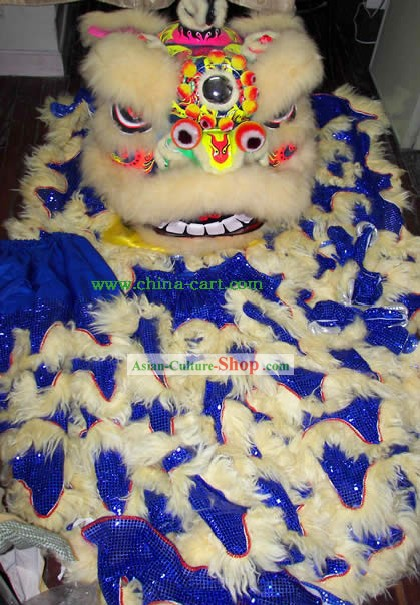 Top Adult Size Competition and Parade Lion Dance Costumes Complete Set