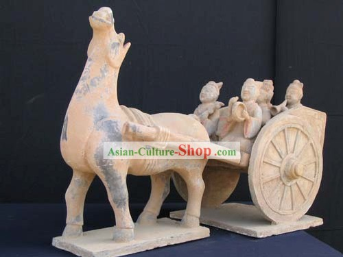 Xian Classical Terra Cotta Warrior-Horse Car