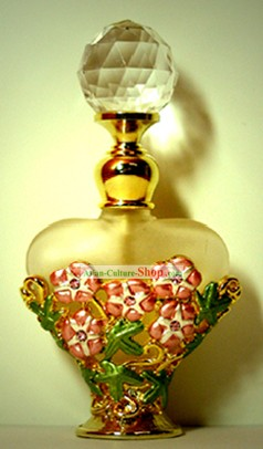 Bohemia Crystal Perfume Bottle