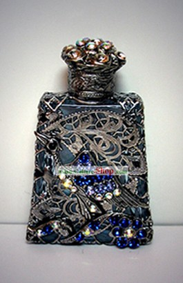 Bohemia Crystal Craftwork Perfume Bottle 4
