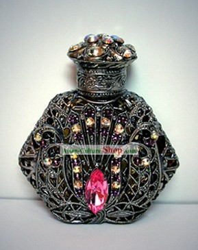 Bohemia Crystal Craftwork Perfume Bottle 5