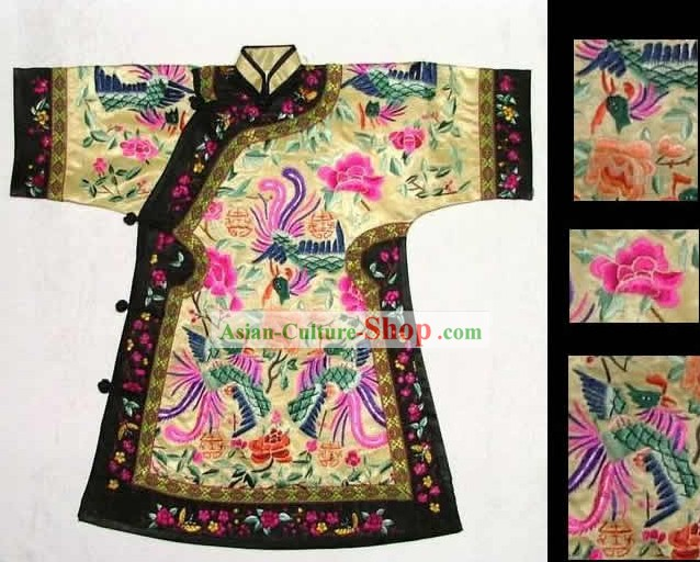 100% Hand Made Embroidery Robe of Chinese Empress