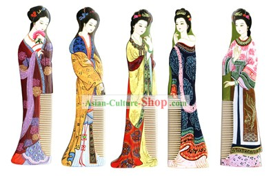 Chang Zhou Comb-Five Dynasties Palace Girls