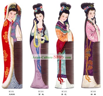 Chang Zhou Comb-Ancient Four Beauties