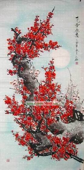 Snow Plum Blossom Painting