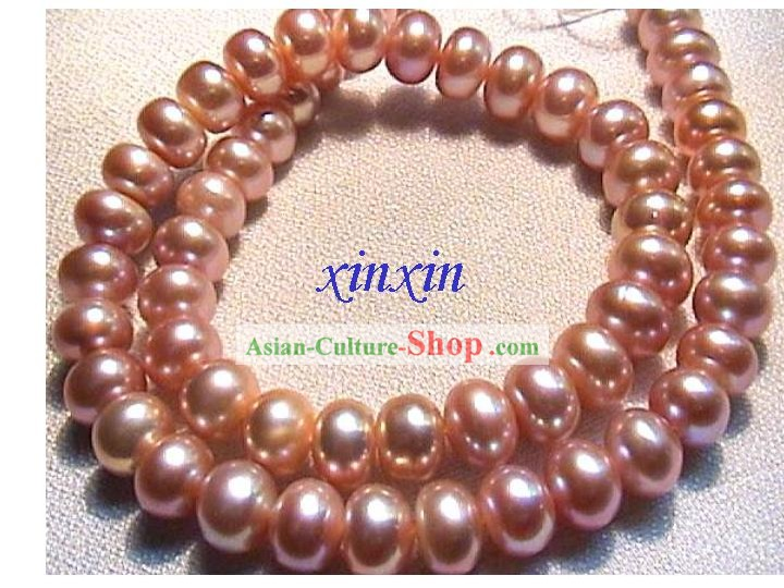 Nice Pink Natural Pearl Necklace