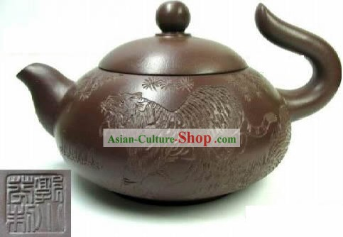 Chinese Hand Made Zisha Teapot-Flying Tiger