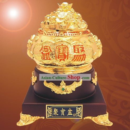 China Shinning Gold Cornucopia