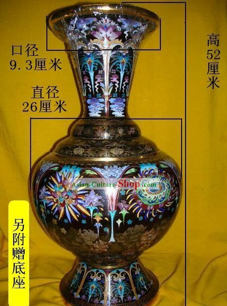 Chinese Stunning Palace Cloisonne Collectible-Sparkle