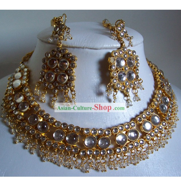 Indian Fashion Jewelry Suit-Romantic Times