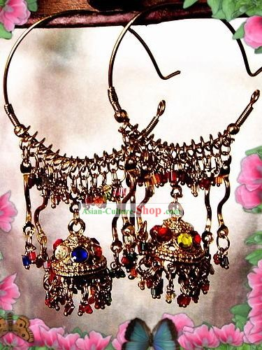 Indian Bohemia Fashion Earrings-Castle