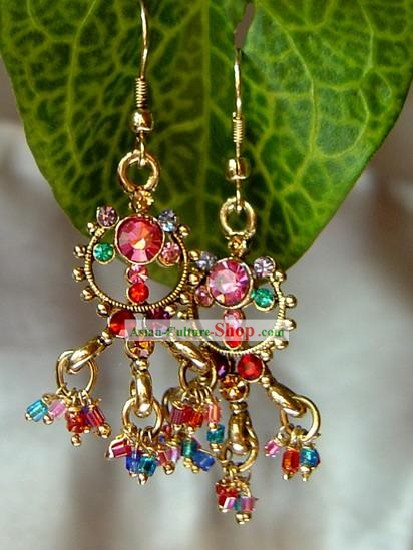 Indian Bohemia Fashion Earrings-Princess Destiny