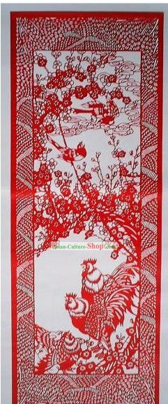 Chinese Large Paper Cuts Classics-Winter