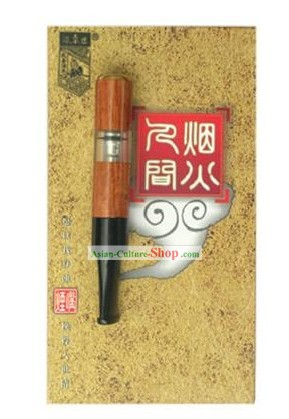 Chinese Carpenter Tan 100% Hand Made Cigarette Holder Gift Package 1