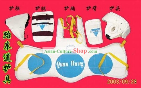 China Shao Lin Temple Wu Shu Article-Tae Kwon Do Protectors Set