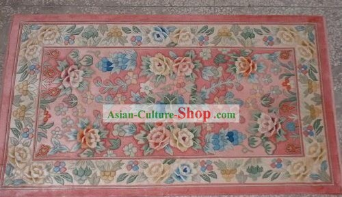 Art Decoration Chinese Hand Made Thick Silk Arras/Tapestry/Rug (87x120cm)