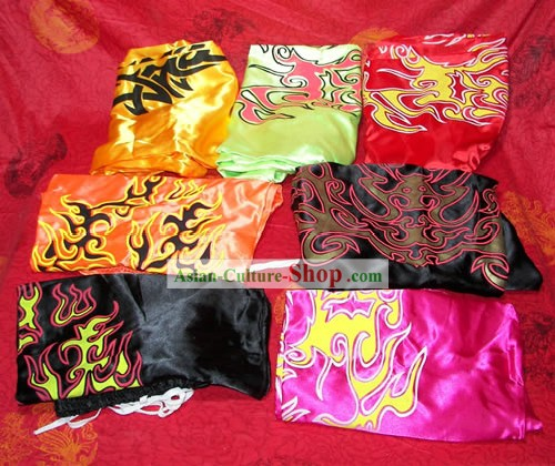 Professional Chinese Dragon Dance and Lion Dance Silk Pants