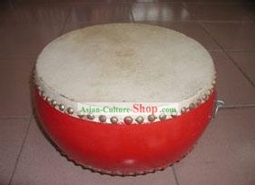 Chinese Traditional 30cm Diameter Low Zhan Drum