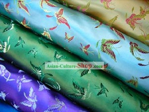 Chinese Butterfly Brocade Fabric
