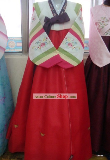 Korean Classic Handmade Korean Hanbok for Woman