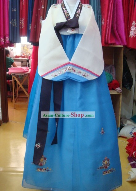 Korean Classic 100% Handmade Wedding Korean Hanbok for Woman