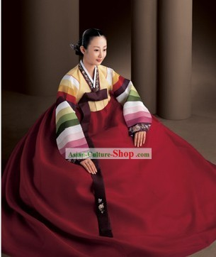 Korean Traditional Handmade Hanbok for Women