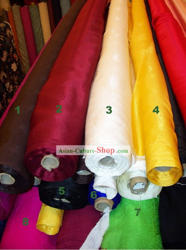 Dragon Pure Silk Fabric
