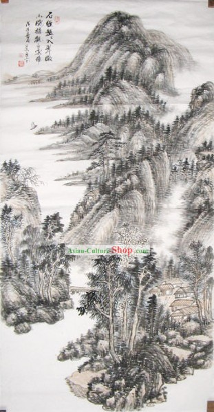 Chinese Traditional Painting - Very Beautiful by Wu Liangbao