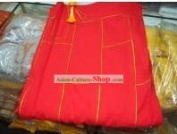 Chinese Traditional Cassock Monk Long Robe