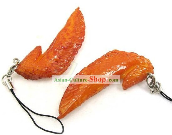 Chicken Wing Shape Kep Chain - Christmas and New Year Gift