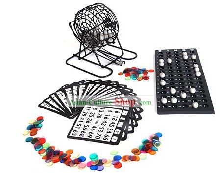 Bingo Set Game - Christmas and New Year Gift