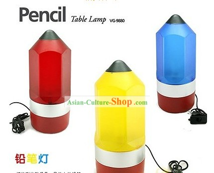 Long Pencil Table Lamp - Christmas and New Year Gift