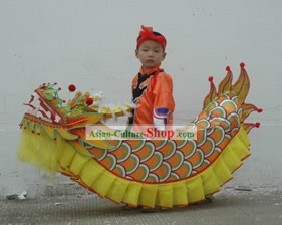 Chinese Traditional Handmade Dragon Costumes for Child