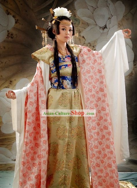Supreme Chinese Classic Princess and Hair Decoration Clothing Complete Set