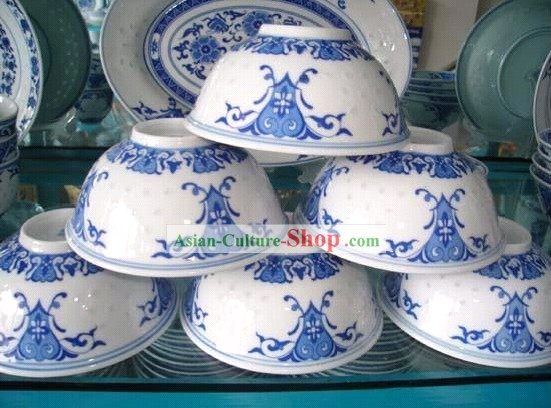 Chinese Classic Jing De Zhen Ceramic Exquisite Bowl