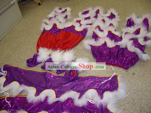 Professional Two Pairs of Lion Dance Pants and Claws