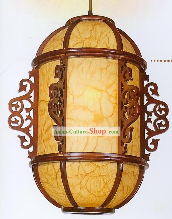 Деревянный китайский фонарик своими руками 68