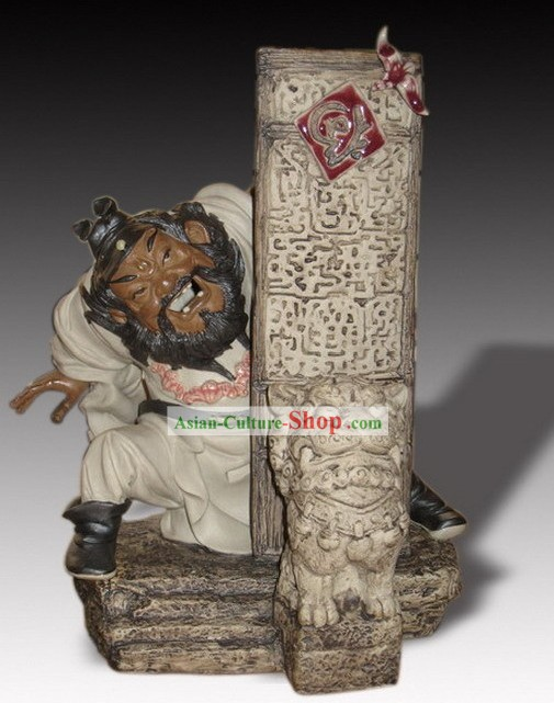 Chinese Classic Shiwan Ceramics Statue Arts Collection -