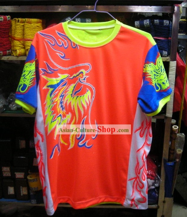 Professional Luminous Dragon Dance and Lion Dance Performance T-shirt