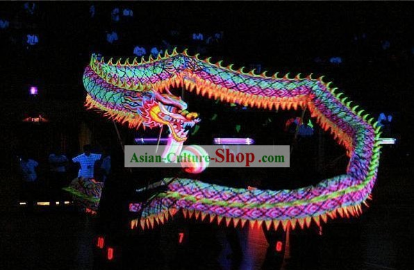 Professional Luminous Dragon Dance Equipment Whole Set