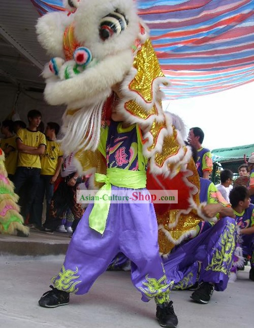 Traditional Kids Lion Dancing Costume
