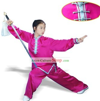 China Professional Mulan Quan 100% Silk Uniform