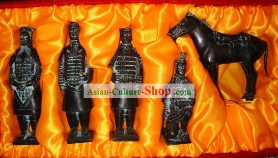 China Terra Cotta Warrior Set(5 Statues)