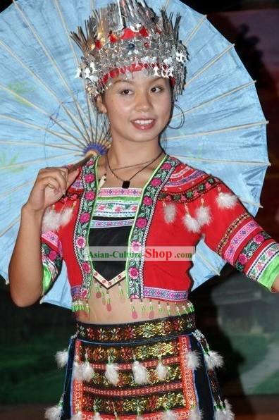 China Miao Minority Dance Costumes
