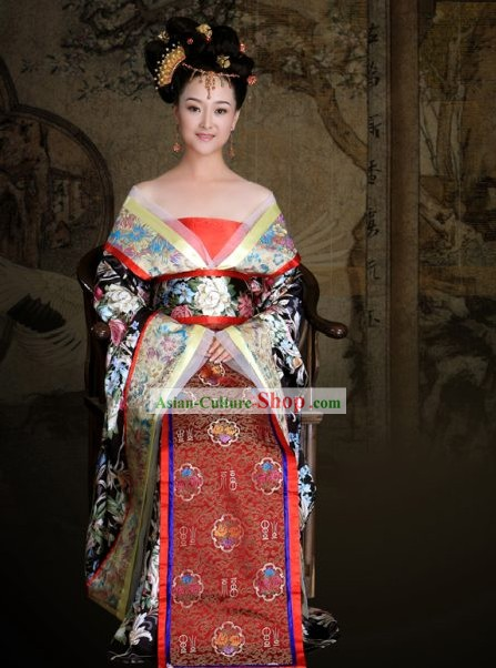 Chinese Ancient Tang Costume Complete Set for Women