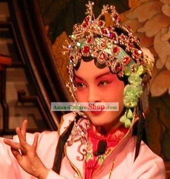 Stunning Beijing Opera Classical Hair Decoration Complete Set