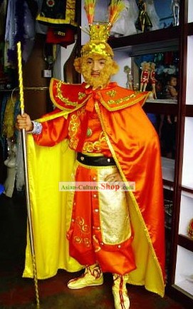 Hairy Monkey King Costume in Journey to West Opera