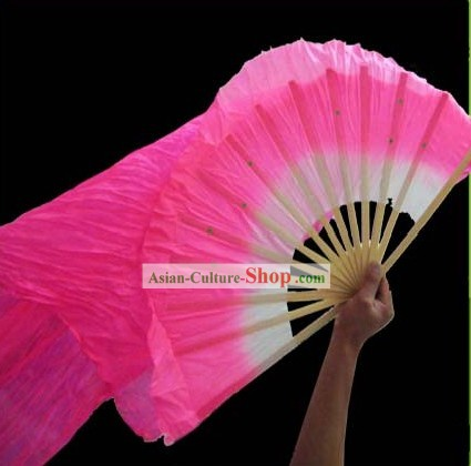 Traditional Chinese Long Silk Fan