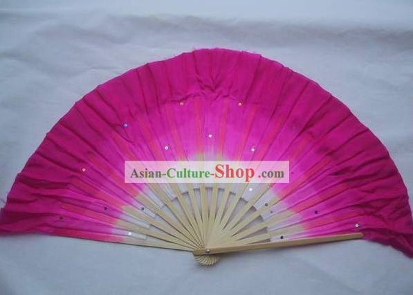 Chinese Traditional Colour Transition Dance Fan
