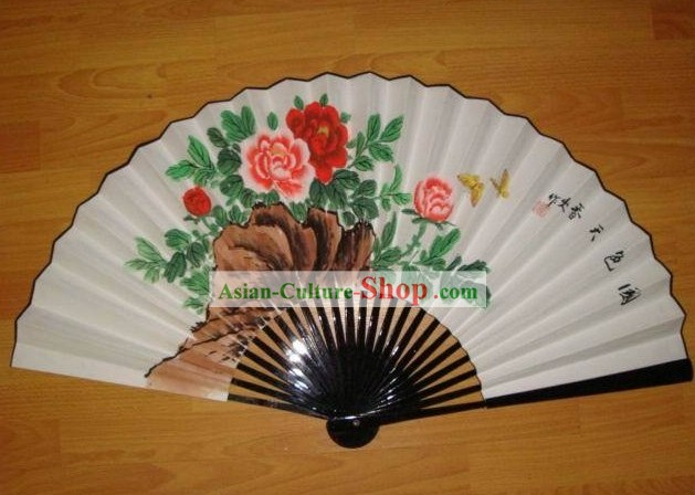 Hand Painted Beijing Opera Fan